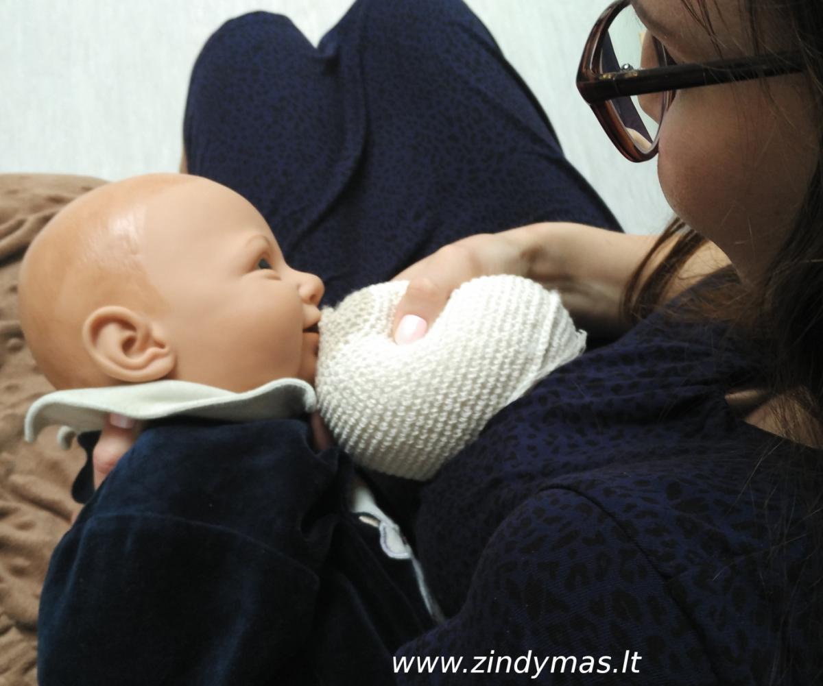 Žindymas užimtoms mamoms